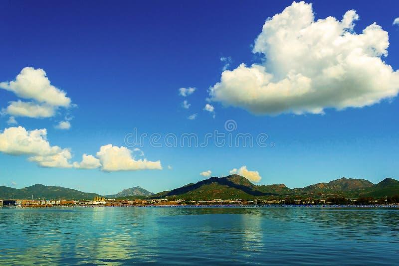 Landschaft in Sardinien stockfotografie