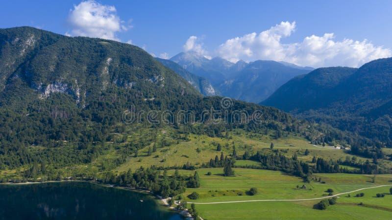 Landschaft in Slowenien stockbild
