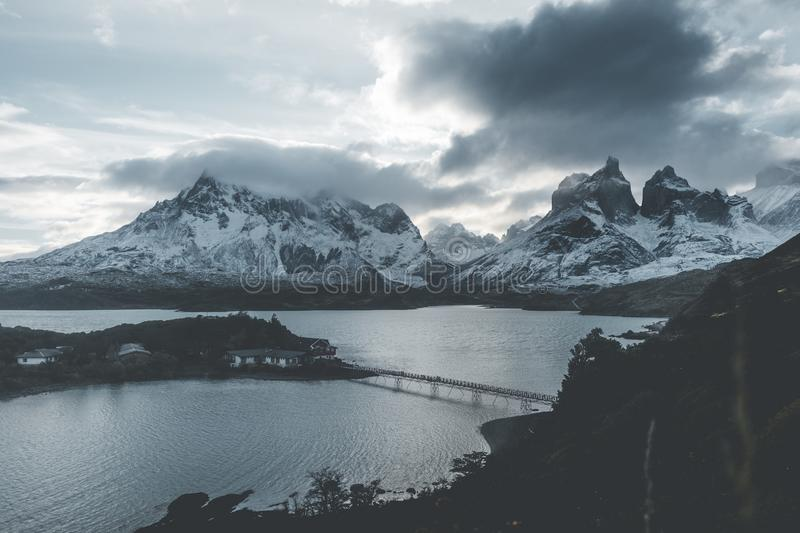 Landschaft Torres Del Paine stockfoto