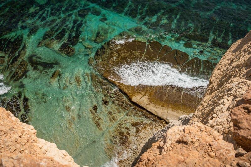 Landschaft um Marsascala Malta stockfoto