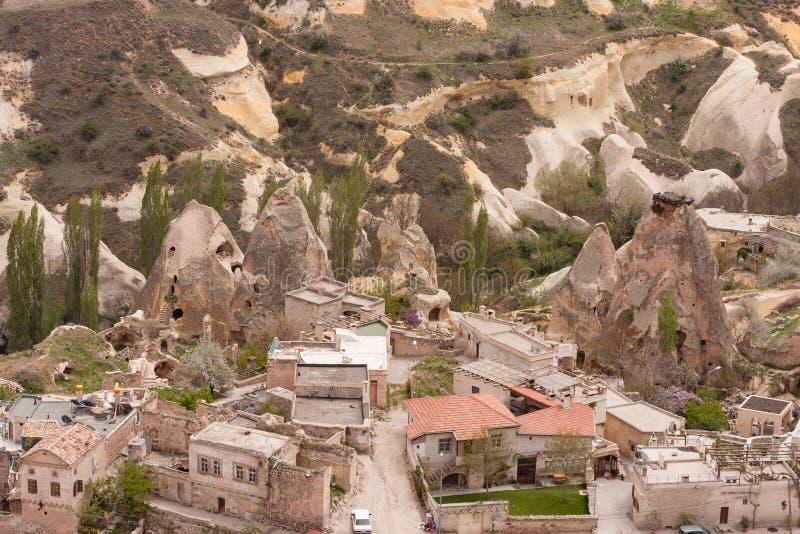 Landschaft von Cappadocia lizenzfreie stockfotos