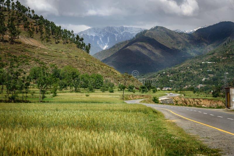Landschaft von Fliegenklatschen Pakistan lizenzfreie stockbilder