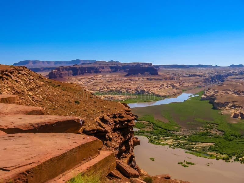 Landschaft von Glen Canyon, Arizona stockbilder