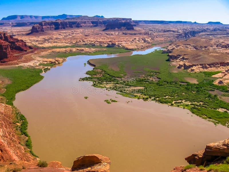 Landschaft von Glen Canyon, Arizona lizenzfreie stockbilder