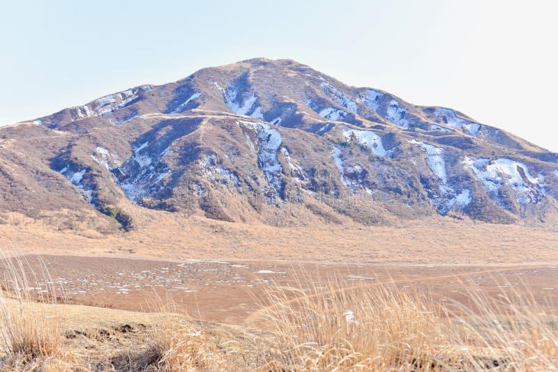 Landschaft von Kusasenri-Hochebene im Aso stockbild