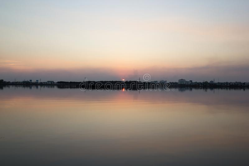 Landschaft von lakeview lizenzfreies stockfoto