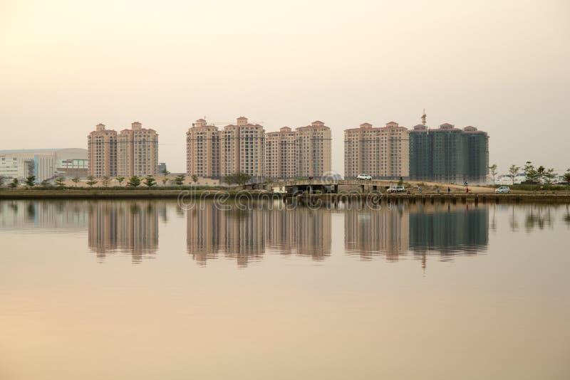 Landschaft von lakeview lizenzfreies stockbild