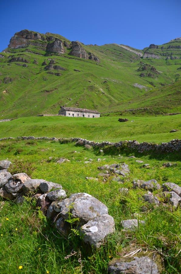 Landschaft von Lunada stockbild