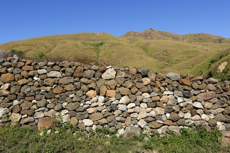 Landschaft von Madagaskar lizenzfreie stockfotografie