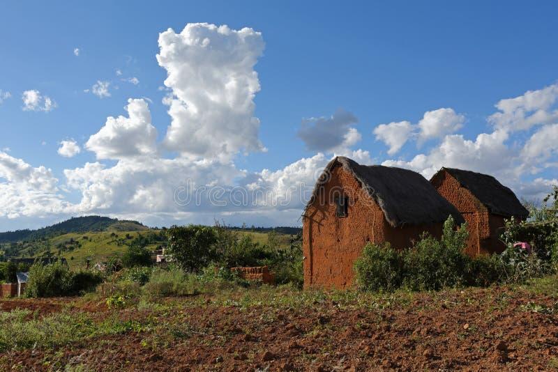 Landschaft von Madagaskar stockbilder