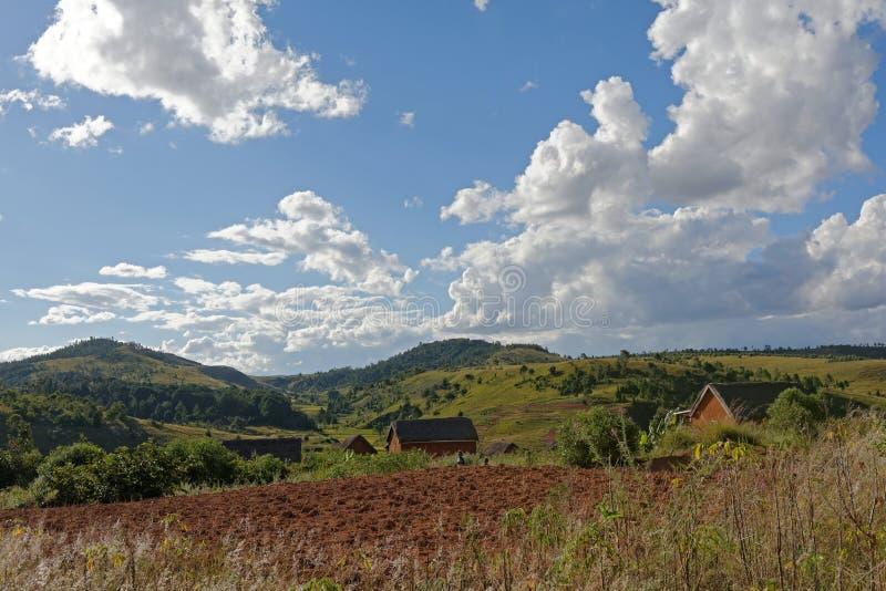 Landschaft von Madagaskar stockfoto