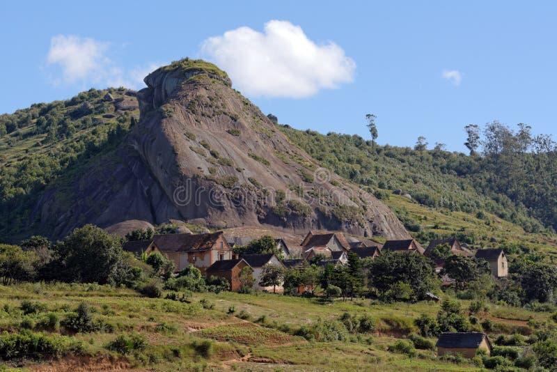 Landschaft von Madagaskar stockbild