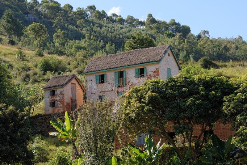 Landschaft von Madagaskar stockfotos