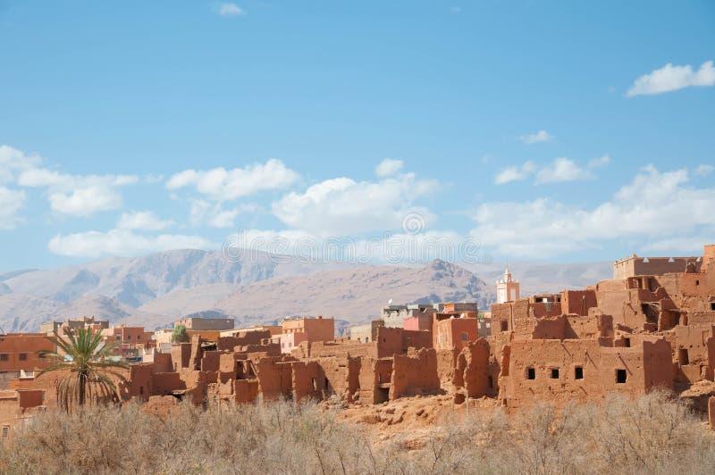 Landschaft von Marokko stockfoto