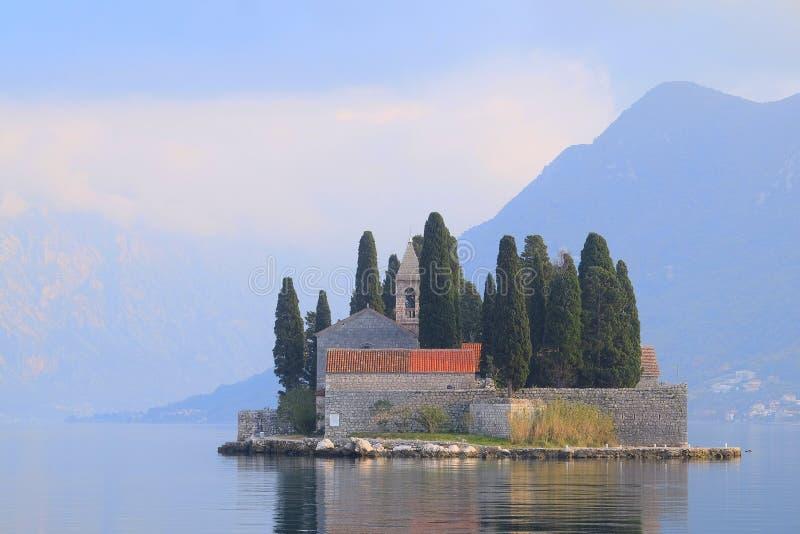 Landschaft von Montenegro lizenzfreies stockbild