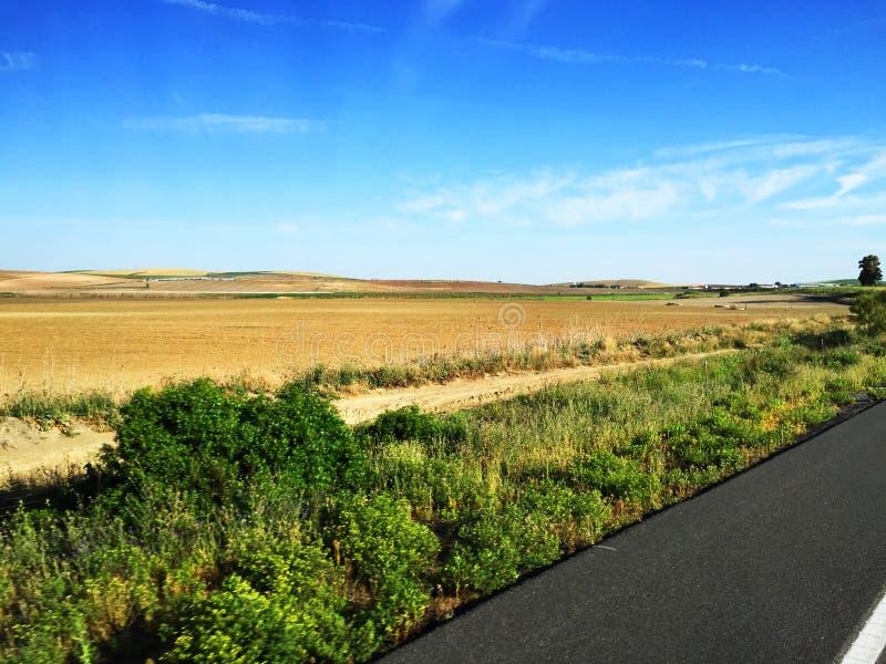 Landschaft von Spanien stockfoto