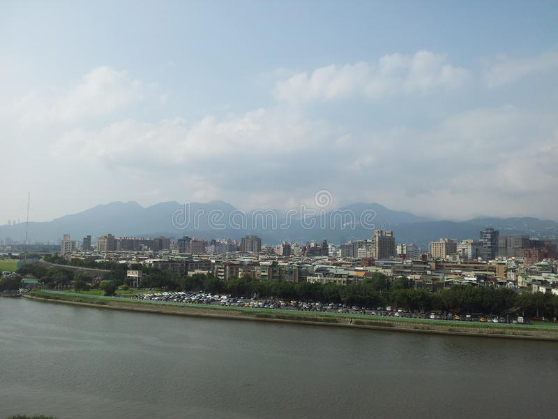 Landschaft von Taiwan stockfotografie