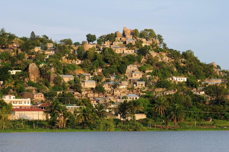 Landschaft von Tanzania lizenzfreies stockfoto