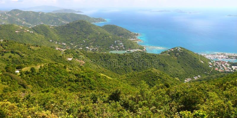 Landschaft von Tortola - BVI lizenzfreie stockbilder