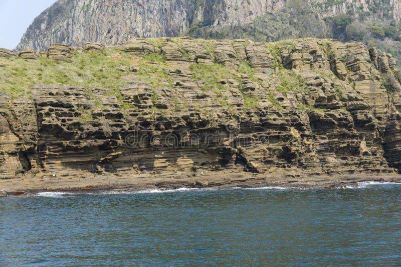 Landschaft von Yongmeori-Küste stockfoto