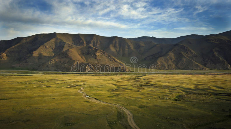 Landschaft in Xinjiang lizenzfreies stockfoto