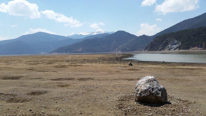 Landschaft Yunnan stockbild
