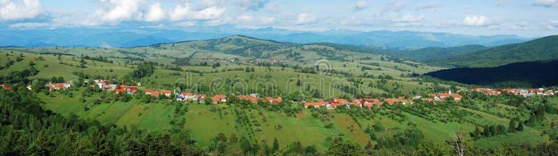 Landschaftpanorama stockfotografie