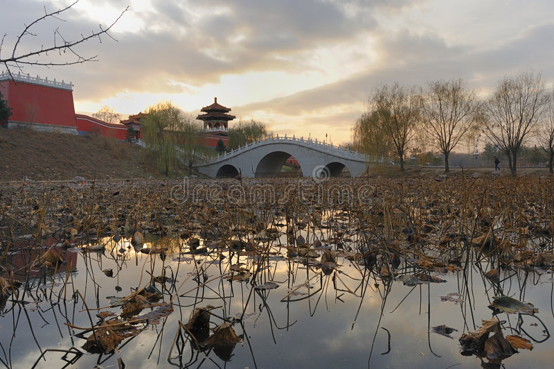 Landschaftpark stockfoto