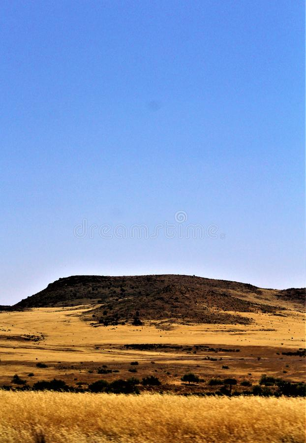 Landschaftslandschaft MESA zu Sedona, Maricopa County, Arizona, Vereinigte Staaten lizenzfreies stockbild