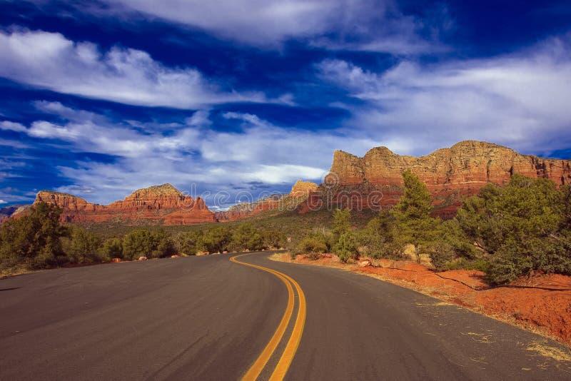 Landschaftsnatur - Sedona, Arizona lizenzfreie stockbilder