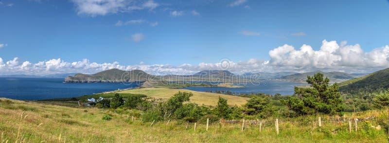 Landschaftspanoramablick von Valentia Iceland lizenzfreies stockbild