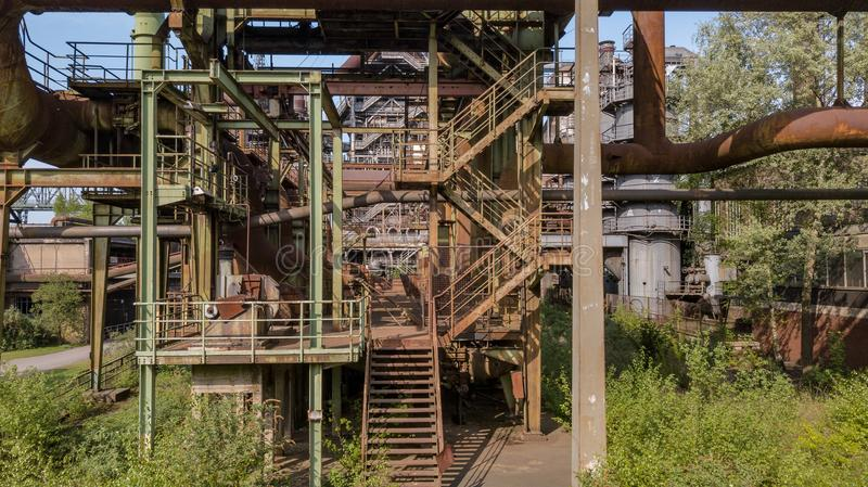 Landschaftspark Duisburg North Ruhrgebiet industrial culture Ger stock images
