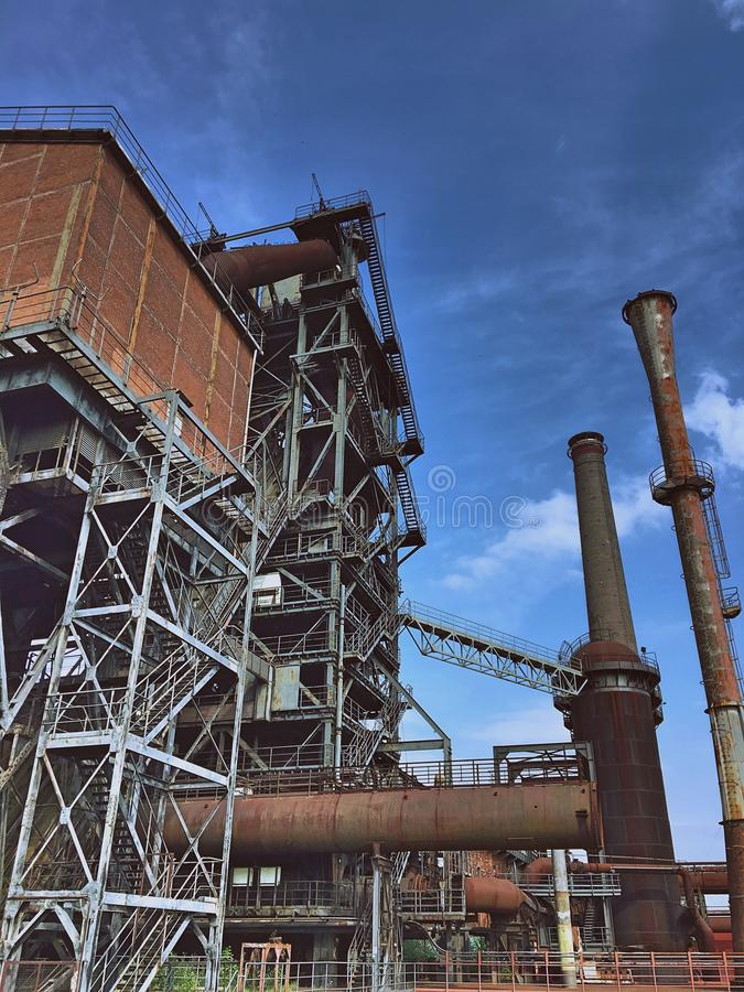 Landschaftspark-Nord Duisburg royalty free stock photography