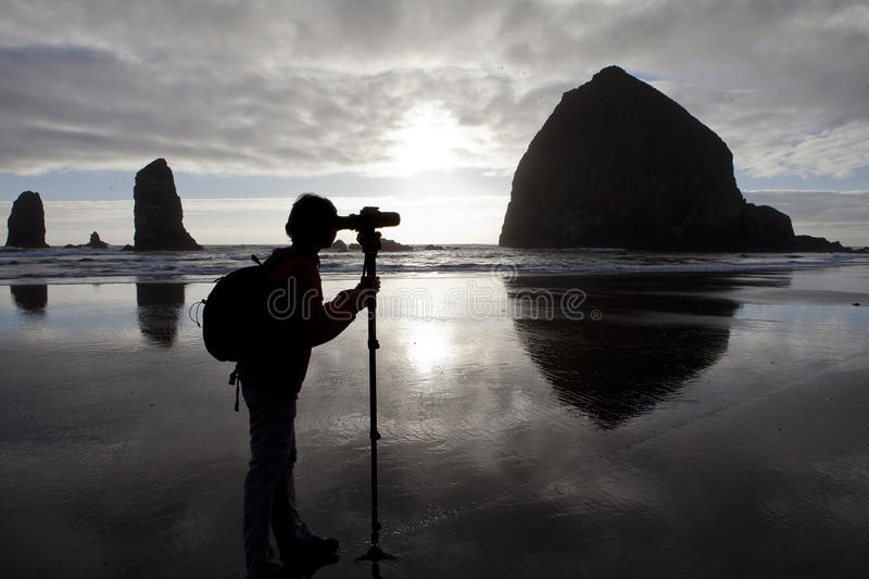 Landschaftsphotograph lizenzfreie stockfotografie