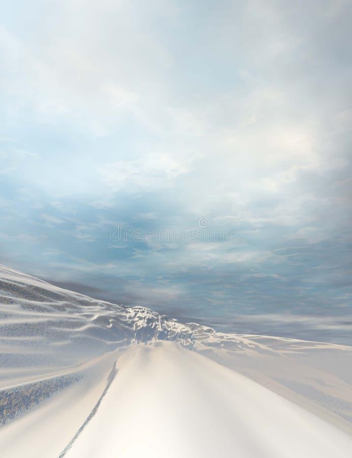 Landschap #1 vector illustratie