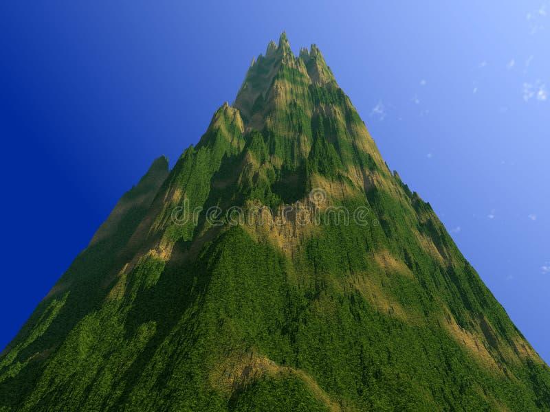 Landschap 2 van de berg royalty-vrije illustratie