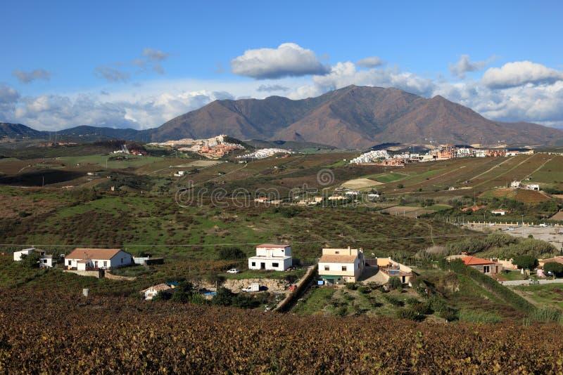 Landschap in Andalusia Spanje stock foto's