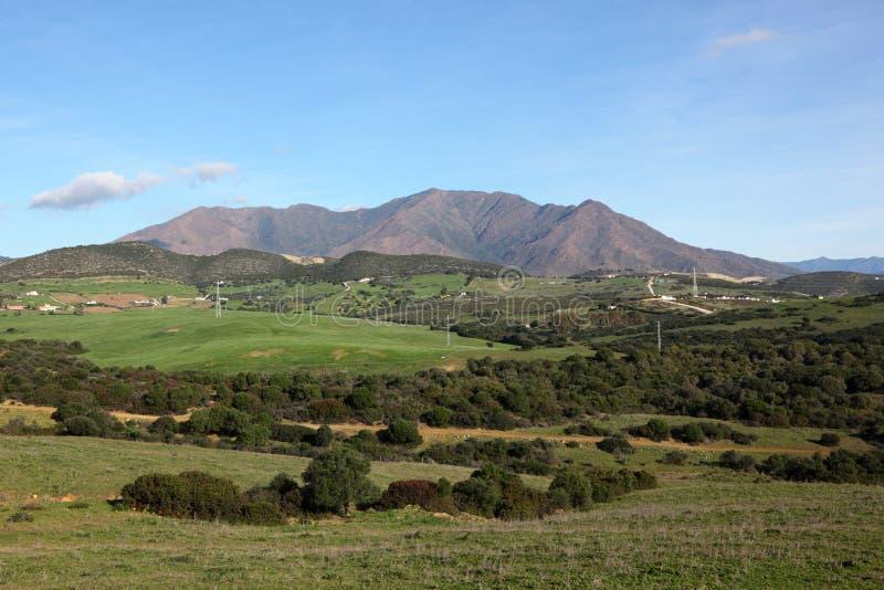 Landschap in Andalusia, Spanje royalty-vrije stock fotografie
