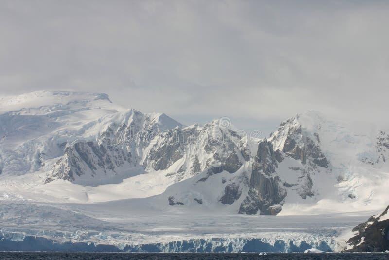 Landschap in Antartica stock fotografie