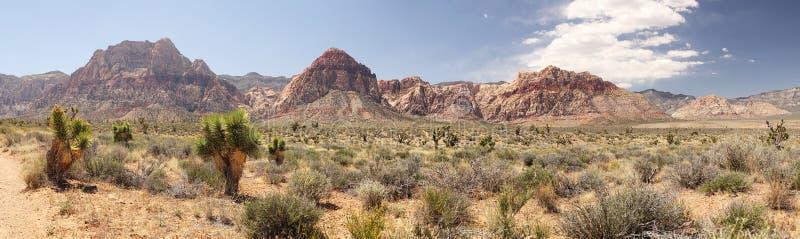 Landschap bij Rode Rotscanion stock foto
