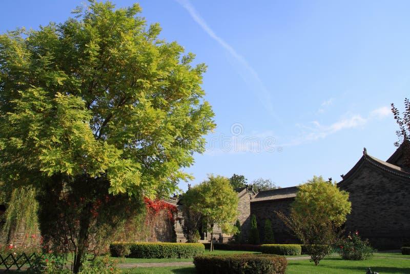 Landschap in de Oude Stad van Ping Yao royalty-vrije stock afbeeldingen