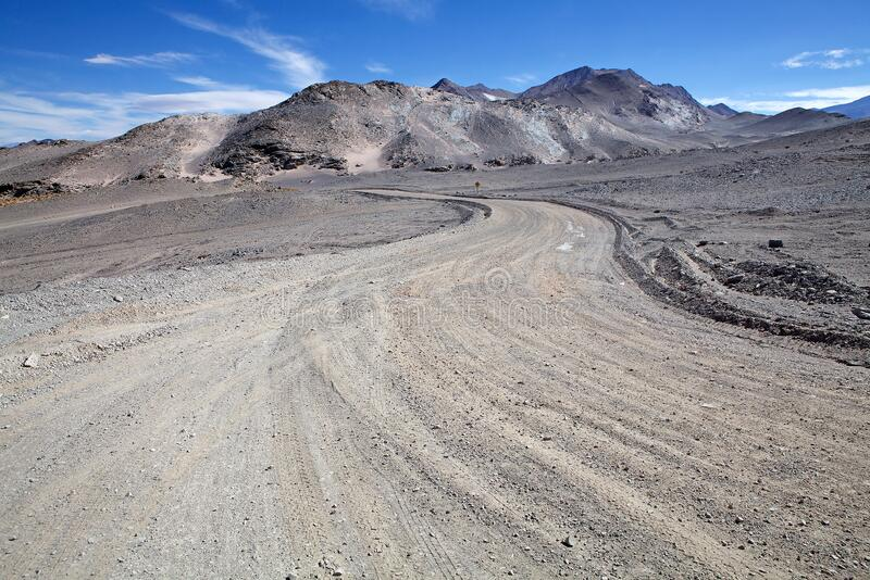 Landschap in de Puna de Atacama, Argentinië royalty-vrije stock foto