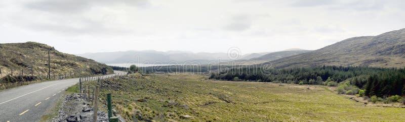 Landschap de Ring van Kerry in Ierland stock fotografie