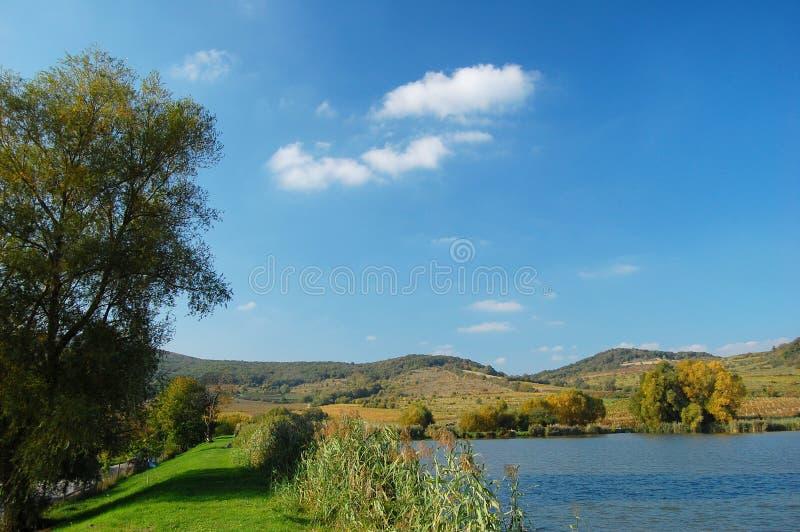Landschap dichtbij pezinok, rozalka stock afbeelding