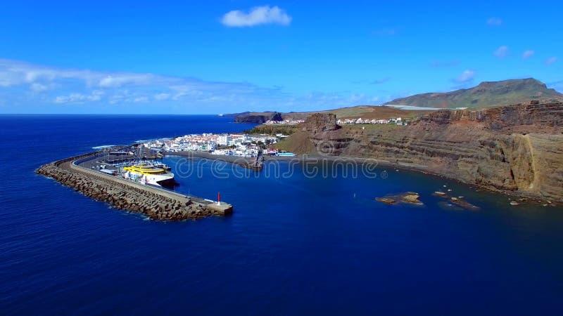 Landschap en mening van mooi Gran Canaria bij Canarische Eilanden, Spanje royalty-vrije stock afbeelding