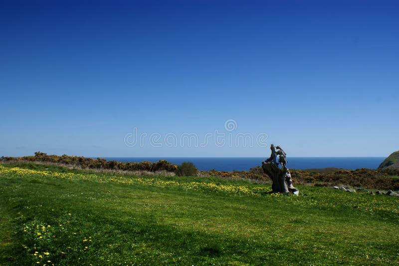 Landschap in Estaca DE Bares, Galicië, Spanje stock afbeeldingen