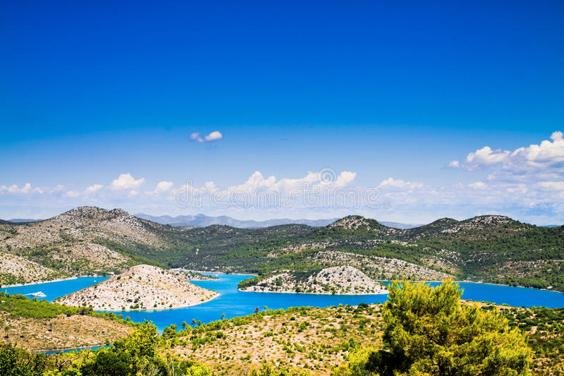 Landschap in Kroatië royalty-vrije stock fotografie