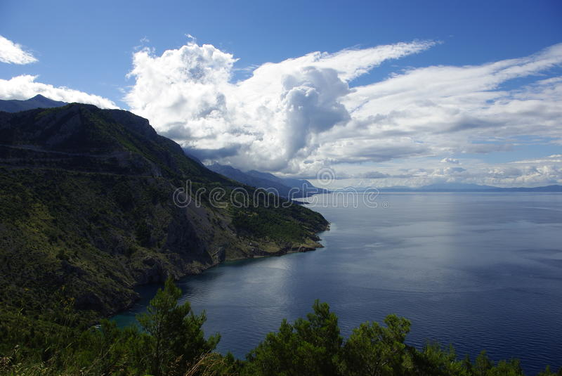 Landschap in Kroatië royalty-vrije stock afbeeldingen