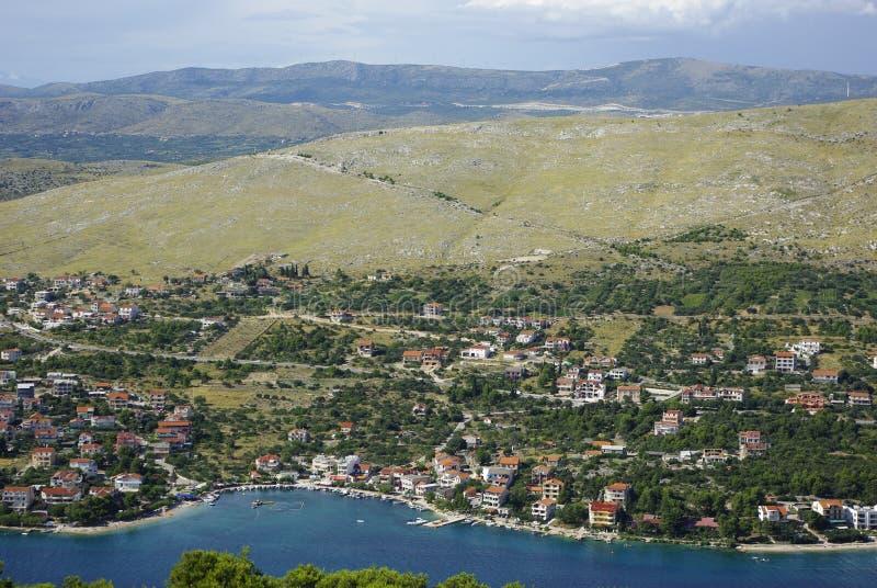 Landschap in Kroatië stock foto's
