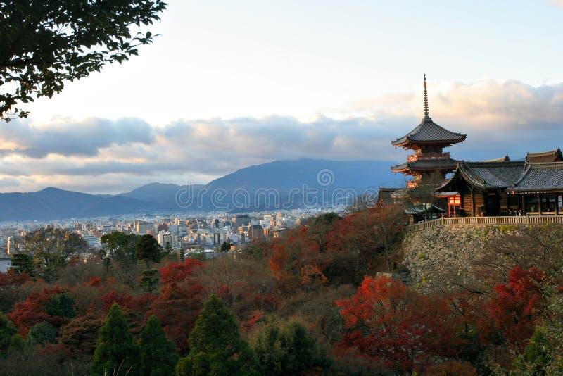 Landschap in Kyoto stock afbeelding